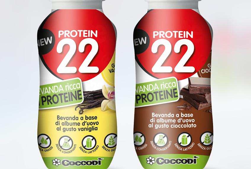 PROTEIN 22 bevanda proteica base di albume d'uovo