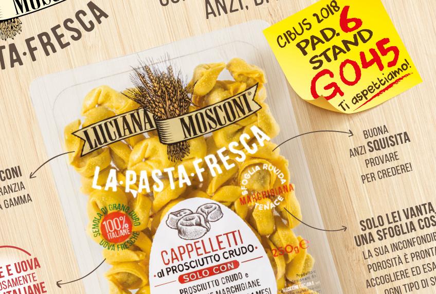 Luciana Mosconi Pasta fresca
